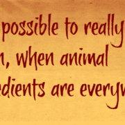 Είναι δυνατόν να αποφύγουμε όλα τα τρόφιμα και προϊόντα που περιέχουν ζωικά;