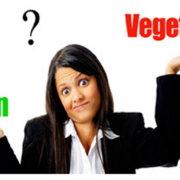 Ποιες είναι οι διαφορές μεταξύ βίγκαν - vegetarian - αυστηρά χορτοφάγων;